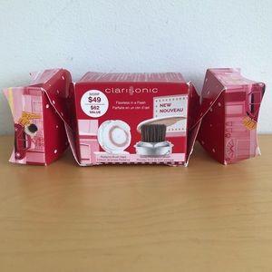 NEW IN BOX CLARISONIC 2 Brush Head Gift Pack